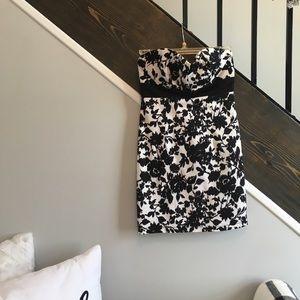 Blacks and white dress
